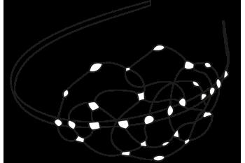 Wire diadem