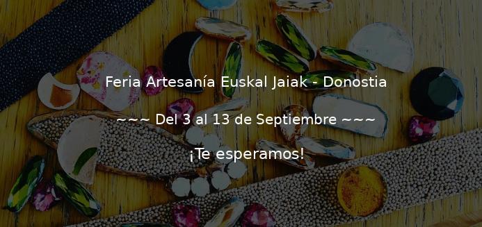 Feria de artesanía Euskal Jaiak 2020 en Donostia, Alderdi Eder