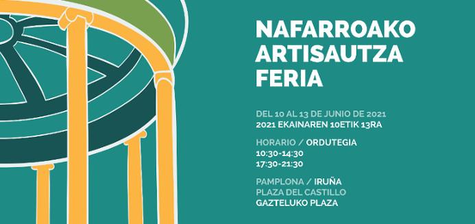 Feria de artesania de navarra 2021
