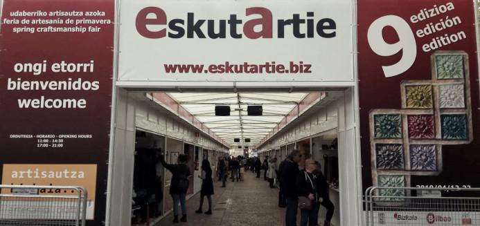 EskutArtie 9º feria de artesanía de primavera - Bilbao 2019