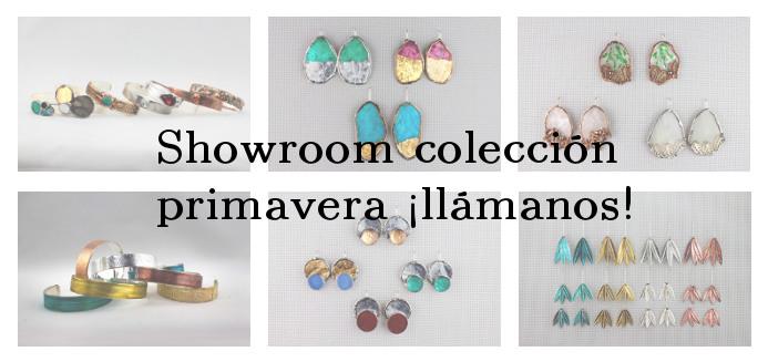 Showroom nueva colección primavera ¡llámanos!