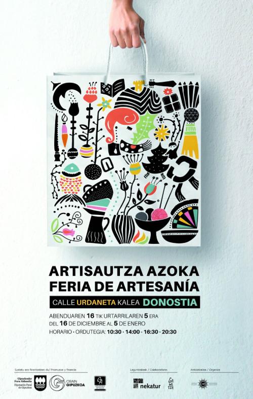 DONOSTIAko Eguberrietako Artisautza Azoka - 2016