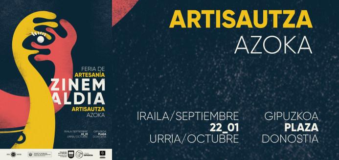 Zinemaldia 2017 artisautza azoka kartela, fesival de cine de San Sebastian 2017