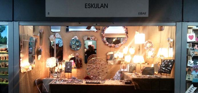 Eskulan está estas navidades en la Feria Mercado de Artesanía Comunidad de Madrid 2017
