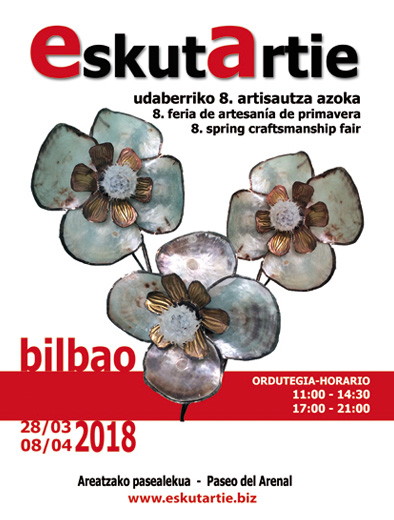 VIII EskutArtie crafts fair issue in Bilbao - 2018