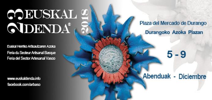 23 Euskal Denda, Artisautza azoka Durangon 2018ko Abenduan