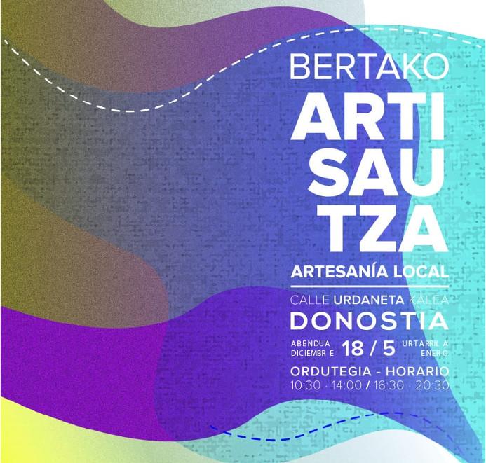 47 DONOSTIAko Eguberrietako BERTAKO Artisautza Azoka - Eskulan