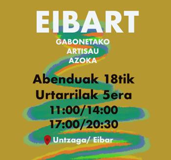 Fería de artesanía EIBART 2020 - Eskulan