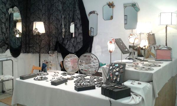 Puesto Eskulan feria artesania Eibart 2015 - 2016