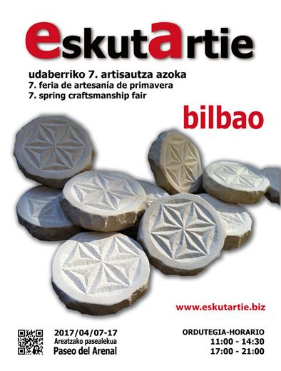 EskutArtie feria de artesanía de primavera - Bilbao 2017
